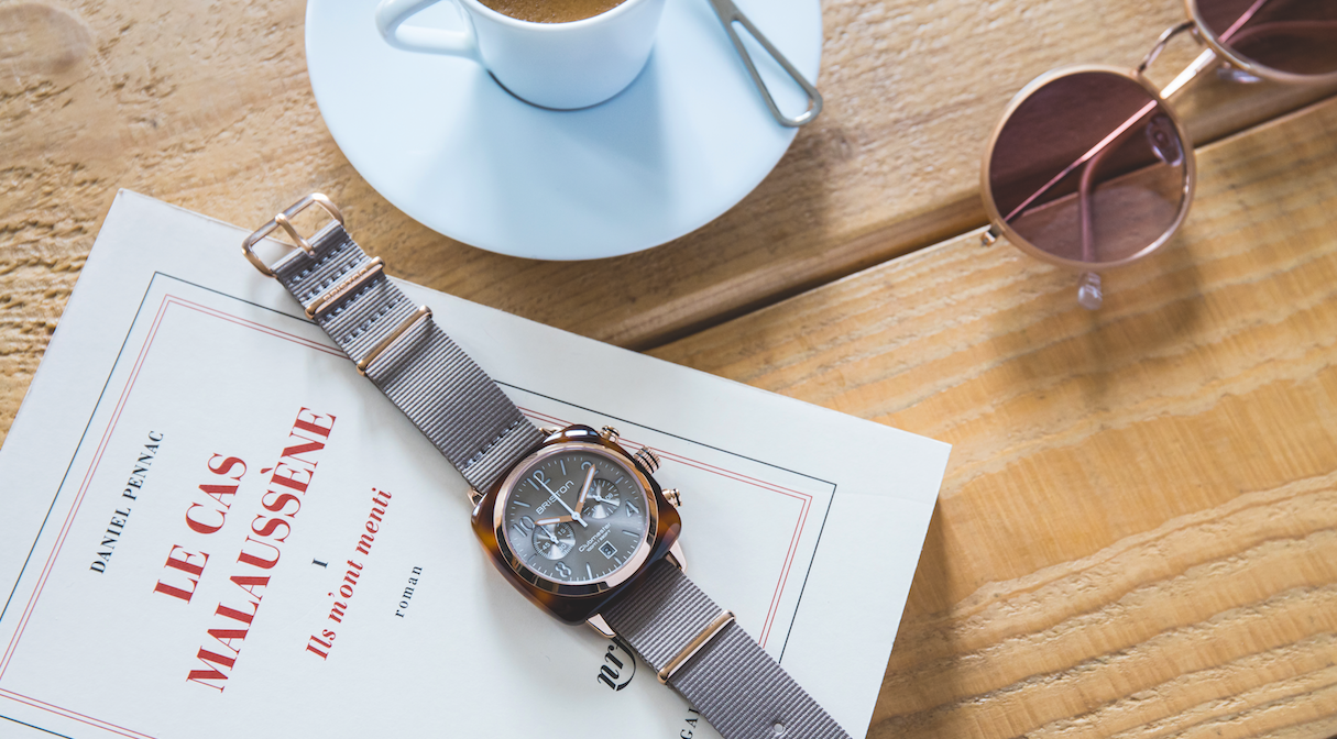 BRISTON: Chic retro-style watches just in time for summer fashioned by former LVMH honcho